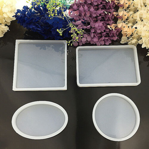 Jewelry Making Mould Clear Silicone Square Mold Resin Casting Craft Polymer Clay