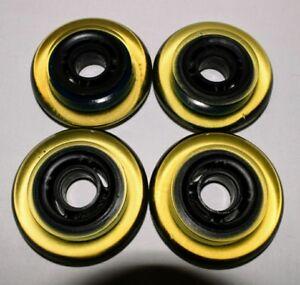 4-Pack-K2-Kinetic-Inline-Skate-Wheels-roller-hockey-indoor-77-5mm-68a