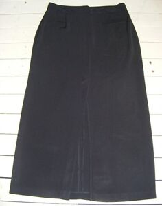 LIMITED-ADDITION-Size-12-BLACK-WORK-SKIRT-Straight-NEW-without-TAGS
