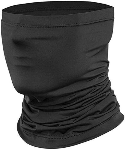 Ice Silk Cooling Neck Gaiter Summer Sun Shield Balaclava Tube Bandana Headband