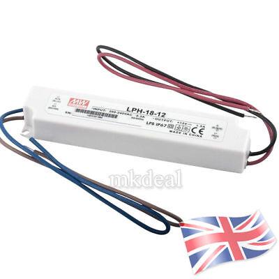 LED Alimentation 18W 12V 1,5A ; MeanWell LPH-18-12 ; Transformateur Driver