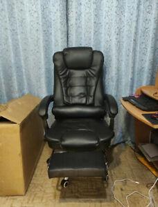 Détails sur  Chaise de Bureau Réglable Fauteuil de Bureau siège de bureau avec