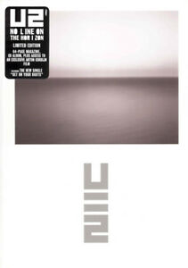 U2-No-Line-On-The-Horizon-Cd-64-Page-Magazine-Limited-Edition-Sealed