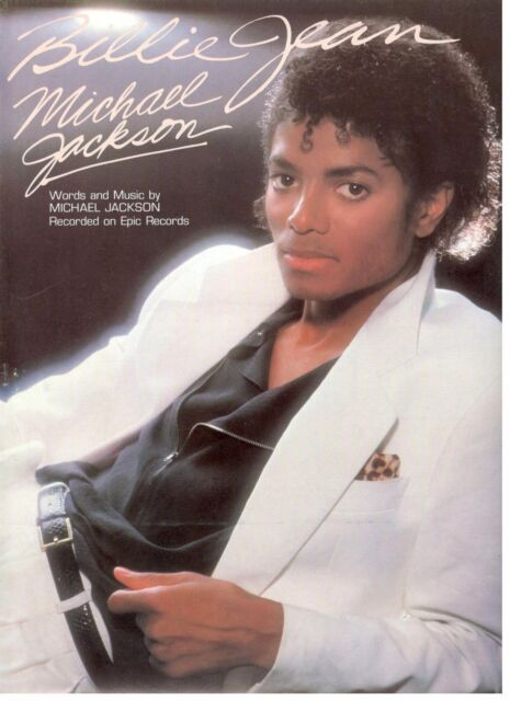 Michael Jackson Thriller Sheet Music Piano Vocal Guitar SongBook NEW 000700738
