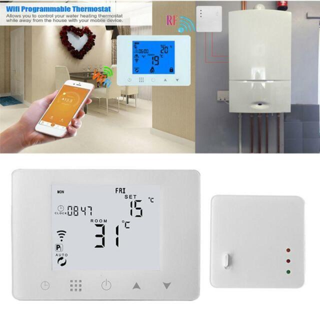 Wifi  U0026 Rf Wireless Room Thermostat Wall