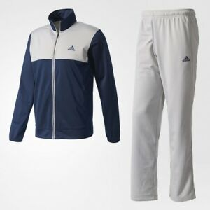 adidas-Men-039-s-Back2basics-Ts-Tracksuit-Collegiate-Navy-Mgh-Solid-Grey-BK4096