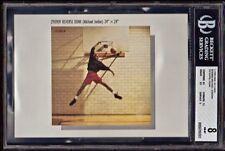 "C1990 NIKE 5 X 7 AD CARDS ""REVERSE JAM"" MICHAEL JORDAN AIR JORDAN *BGS NM-MT 8."