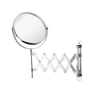 Specchio Bagno Con Braccio.Dettagli Su Specchio Bagno Ingranditore A Muro Con Braccio Estensibile Misura 15 Cm Offerta