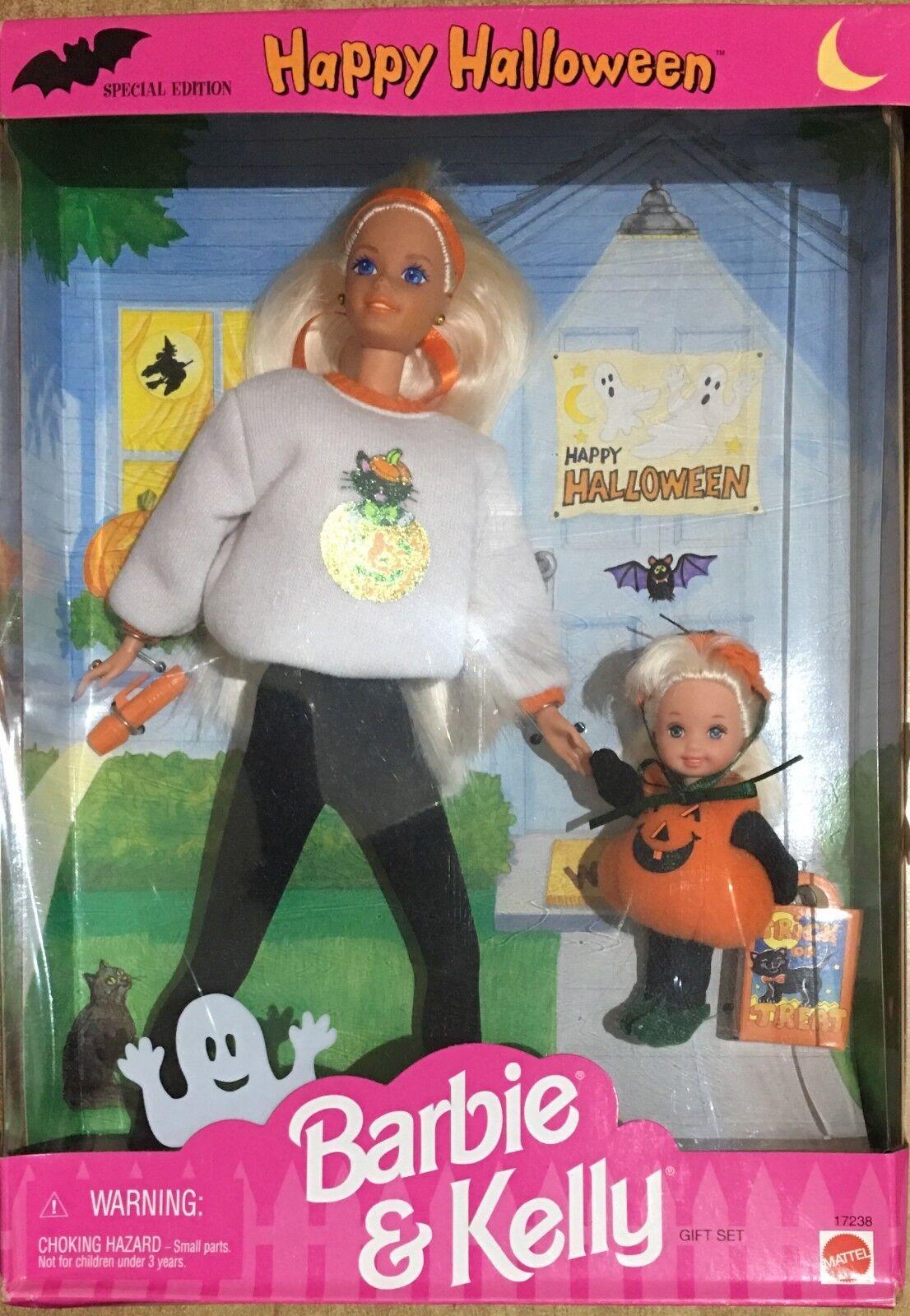 Barbie Mattel Happy Halloween Barbie&Kelly Special Edition 96'