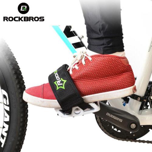 ROCKBROS Radfahren Pedale Gürtel MTB Ultraleicht Bike Fahrrad Pedale Füße Fuß