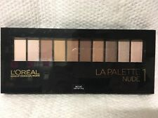 LOREAL LA PALETTE NUDE 1 - EYESHADOW PALETTE - SEALED -  COLOR RICHE - 10 SHADES