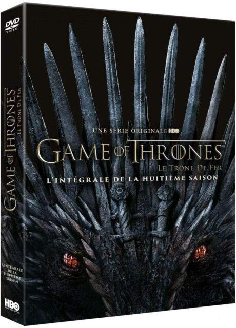 GAME OF THRONES Le Trône de Fer - SAISON 8 - COFFRET DVD NEUF SOUS BLISTER