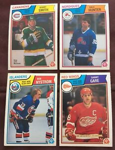 1983-O-PEE-CHEE-HOCKEY-Select-from-list-view-numbers-PLAYER-PRICE-amp-Quantities
