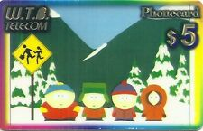 RARE / CARTE TELEPHONIQUE PREPAYEE - SOUTH PARK / PHONECARD LIMITED EDITION