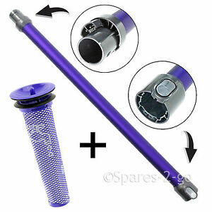 Image of: Replacement Image Is Loading Purpletubepiperodprefilterfordyson Ebay Purple Tube Pipe Rod Pre Filter For Dyson V6 Animal Handheld