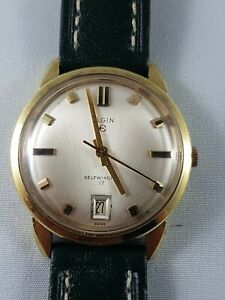 Elgin-vintage-automatic-mens-watch-collector-watch-working