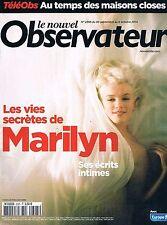 Le Nouvel Observateur   N°2395   30 Sep 2010: Les vies secretes de marilyn