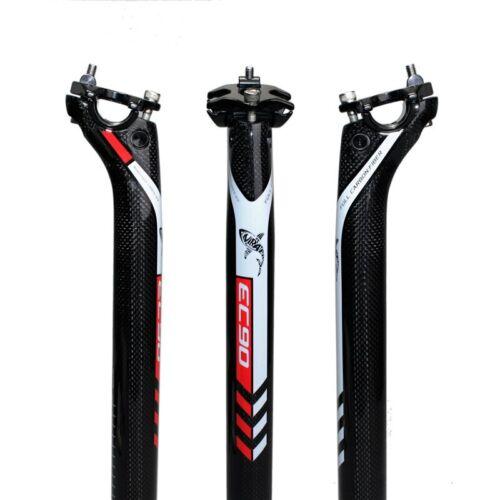 Ultraléger complet en fibre de carbone vélo Tige de selle Vélo de route Tube de selle VTT Tige de selle