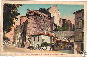 07-cpa-Tournon-auf-RHONE-das-Schloss