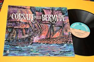 GIORGIO GASLINI LP I CORSARI DELLE BERMUDE 1°ST ORIG 1962 EX+ GATEFOLD+BOOK JAZZ