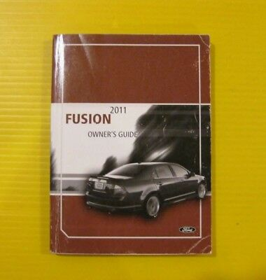 fusion   ford owners owners manual oem ebay