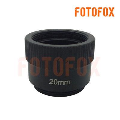 Lens Adapter Ring Tube C-CS-20mm 20mm C or CS Mount Extension Tube
