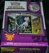 Mew Mythical Pokemon Collection Box Trading Cards Game Booster Pack Package NEW