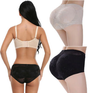 1f756c0e2310 Image is loading Women-Knickers-Padded-Panties-Shaper-Bum-Butt-Push-