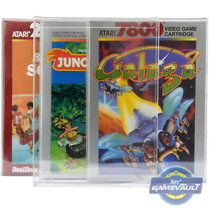 1 Game Box Protector For Atari 2600 5200 7800 Strong 0.5 Mm Plastic Display Case-afficher Le Titre D'origine Zllhg3qu-07180157-577027222