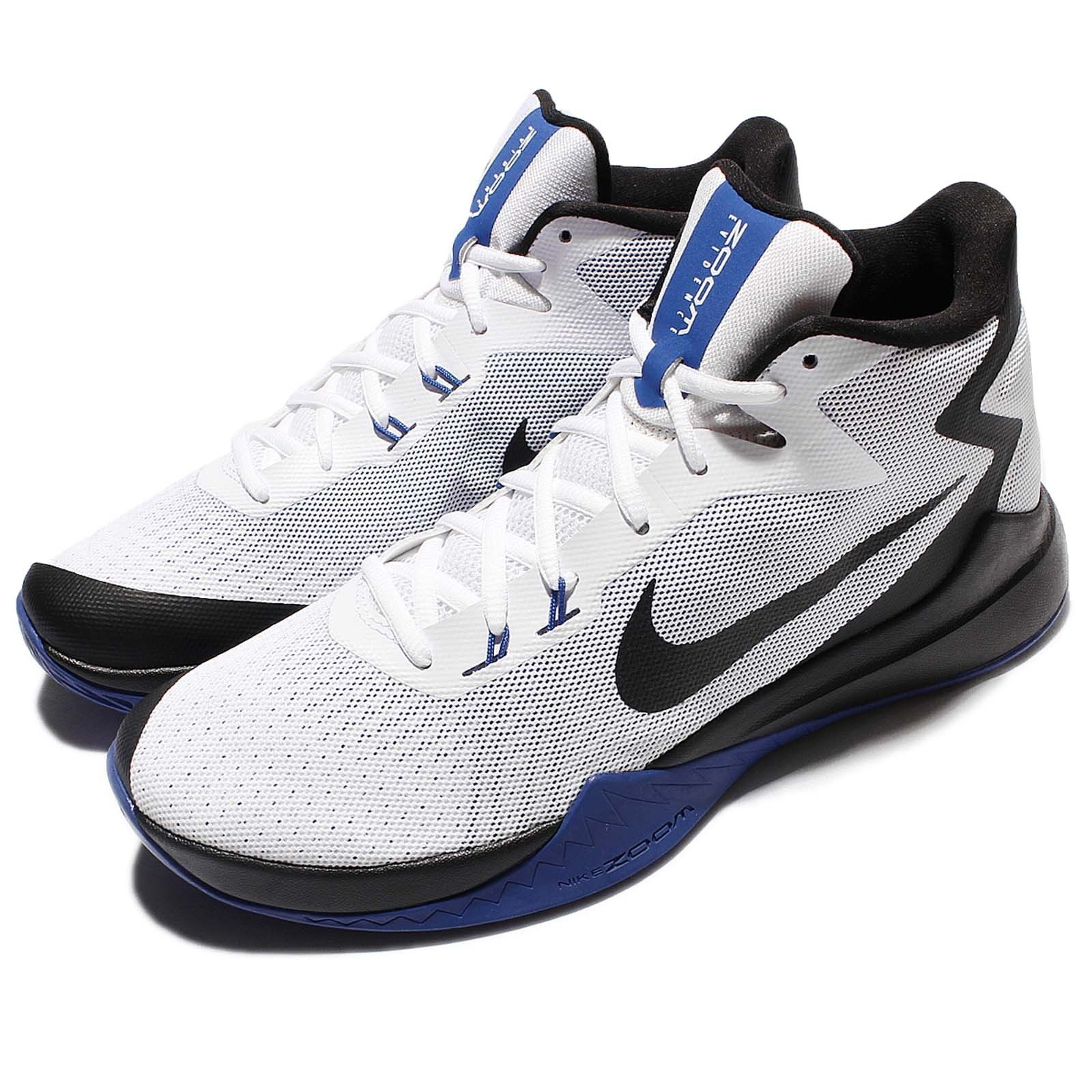 Nike Zoom Evidence White Black bluee Men Basketball shoes Sneakers 852464-104