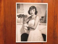KAY ROSE(Died-2002)Academy Award/Sound Editor/The River Signed 8X10 B & W Photo