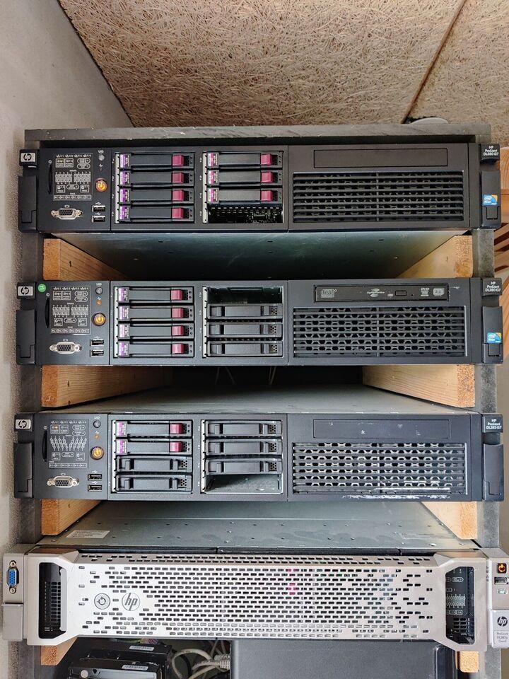 Server, HP, God
