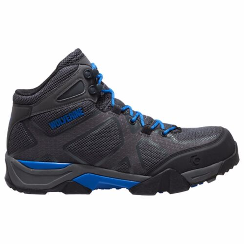 Wolverine Thunder SX CarbonMax Composite Toe Work Boot W10564 GREY//BLUE