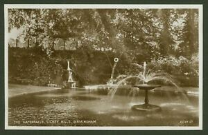 Birmingham-The-Waterfalls-Lickey-Hills-Vintage-Valentines-Photo-Postcard