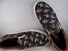 VANS Classic Slip-On Samurai Warrior Black Skateboarding Shoes Men's Size 12 NIB