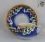 縮圖 1 - Antigua TAZA de Porcelana SARREGUEMINES Opaque, Siglo XIX  (1875-1900) Sellada.