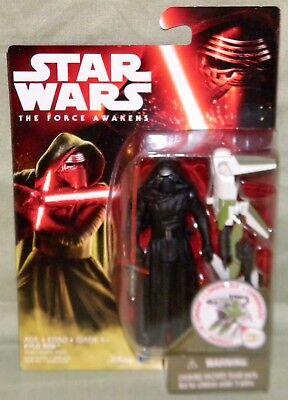 """Hasbro Star Wars The Force Awakens KYLO REN Wave 2 Figure 3.75/"""" Disney In Stock"""