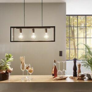 Pendelleuchte E27 Küche Stahl Vintage Wohnzimmer kupfer