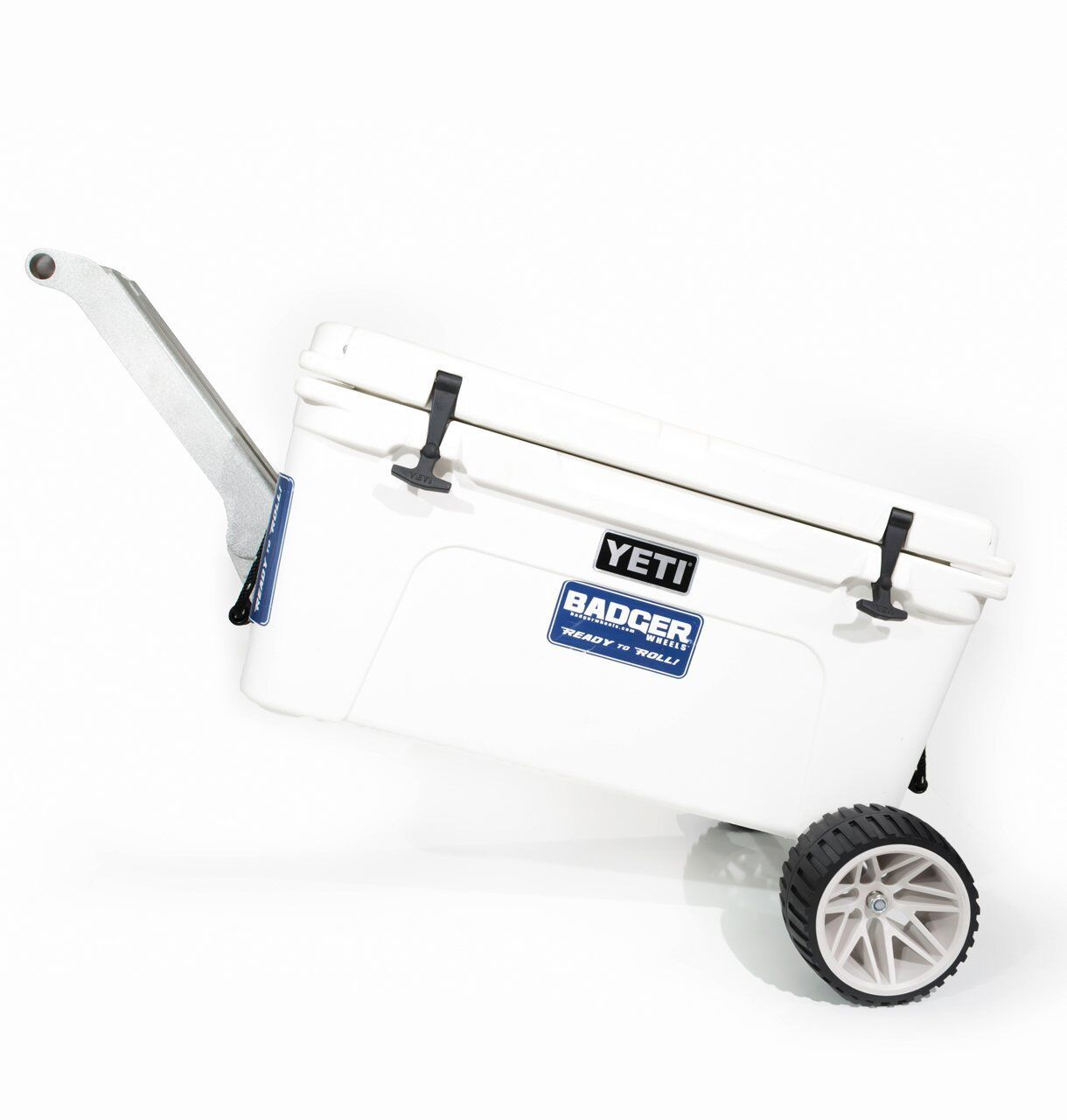 Badger Wheels with Handle Stand for Yeti Tundra 35  45 50 65 75 105 110 125 160  fishional store for sale