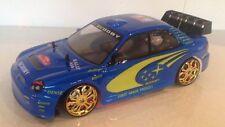 SUBARU IMPREZA Rally Champion stile Radio Remote Control Car in Scala 1:10