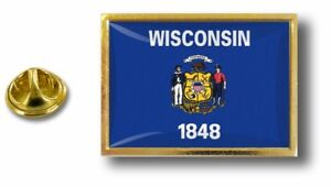 pins-pin-badge-pin-039-s-metal-avec-pince-papillon-drapeau-etats-usa-wisconsin