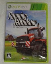 Farming Simulator (Microsoft Xbox 360, 2013) Japanese Version