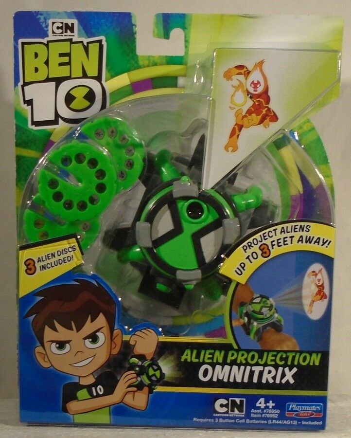 Ben 10 By Playmates - Alien Projection Omnitrix Role Play Play Play Wrist Watch (MOC) 13843f