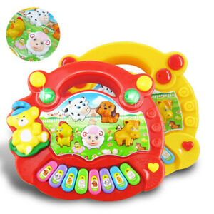 7ab70f3310a5 Toys for Baby Kids Animal Farm Keyboard Electrical Piano Musical Toy ...