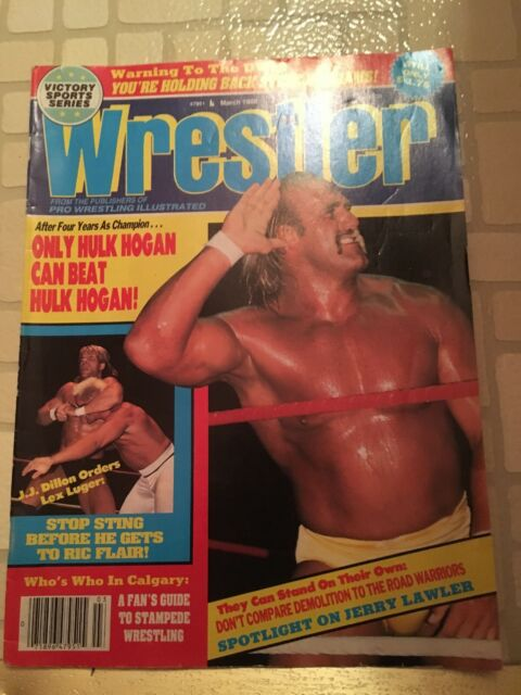 WWF - March, 1988 Back Issue