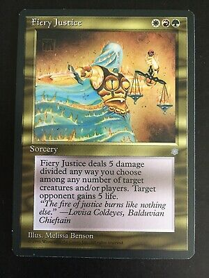 MTG Magic The Gathering MP Cond English 1x Despotic Scepter Ice Age Ed