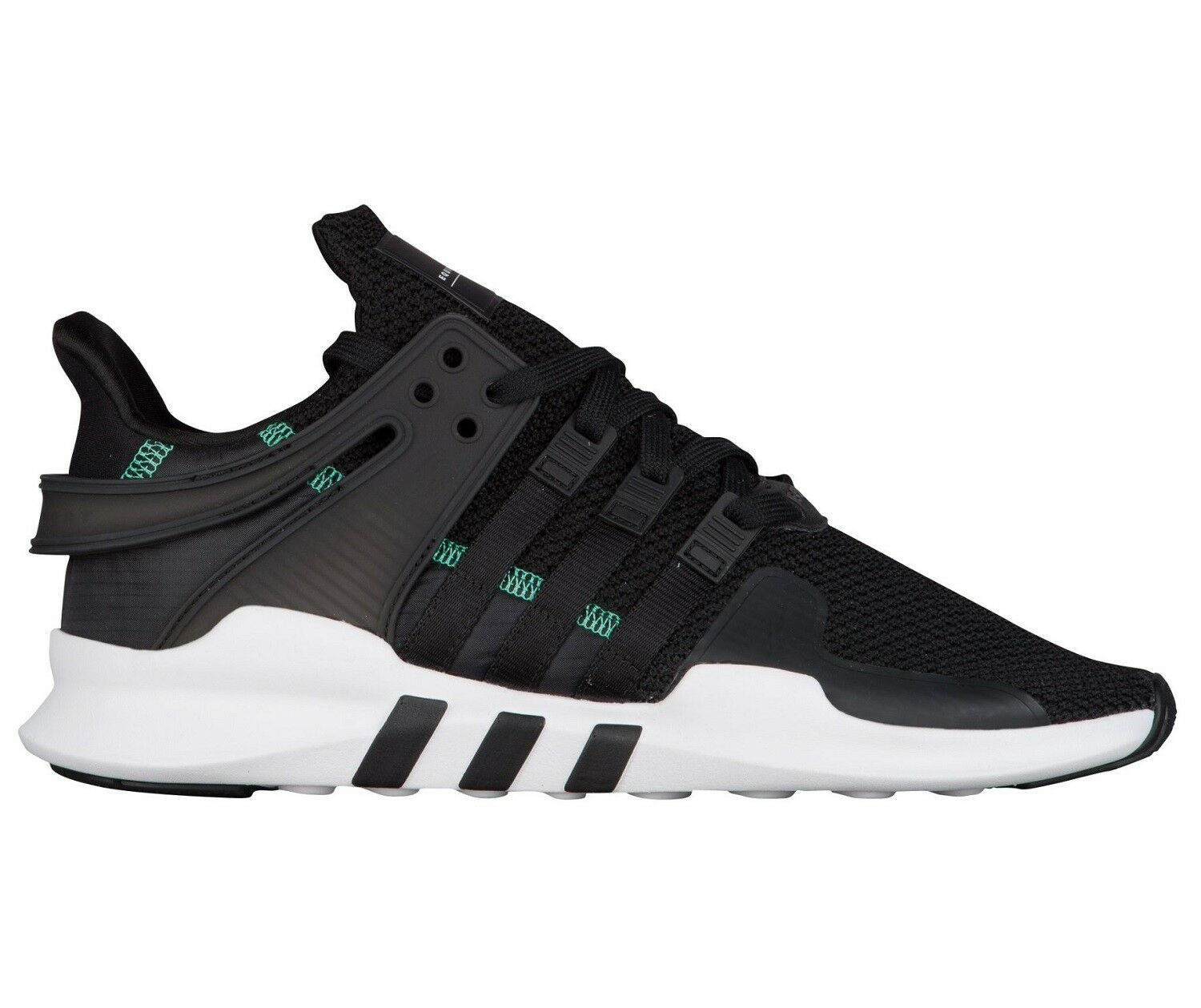 Adidas EQT Support ADV Mens CQ3006 Black White Knit Running shoes Size 12