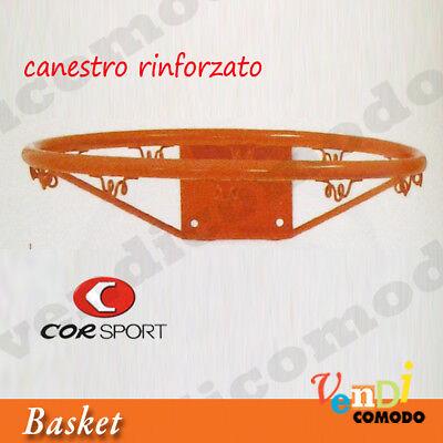 Canestro Regolamentare Rinforzato Corsport Basket Pallacanestro Palla Canestri Per Soddisfare La Convenienza Delle Persone