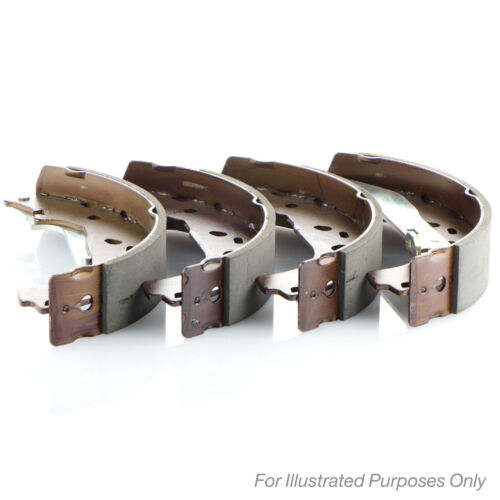 Fits Ford Fiesta MK7 1.0 Genuine Borg /& Beck Rear Brake Shoe Set
