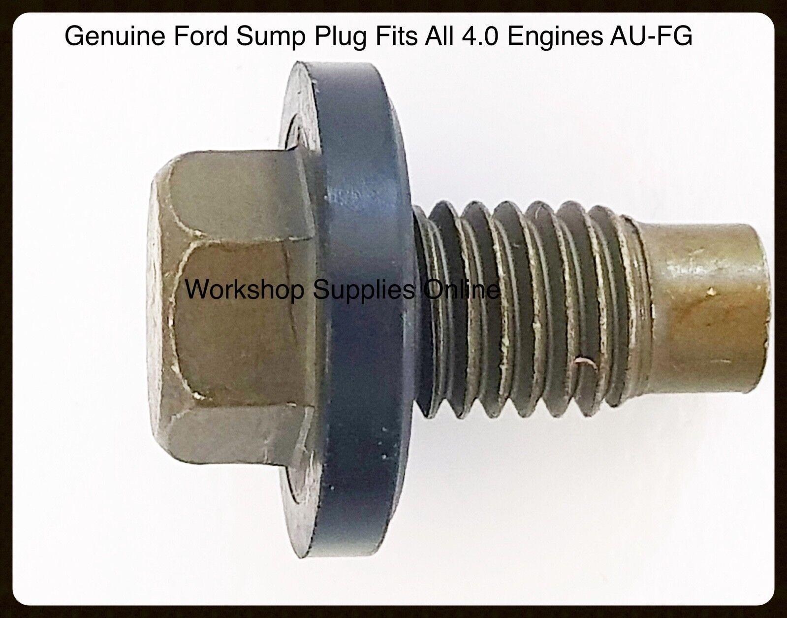 Ford F5RZ6730B Oil Drain Plug